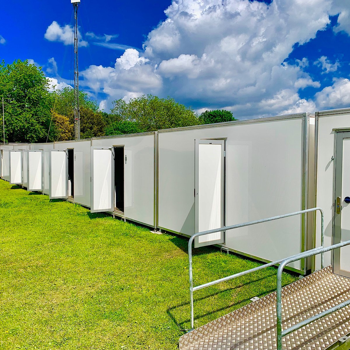 Concert Festivals Gig Toilets Trailers WC Rental and Hire