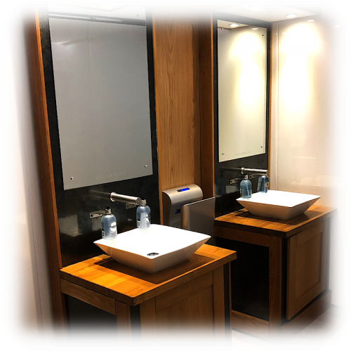 Hullabaloos Luxury Loo Toilet Hire for Concerts Festivals Events