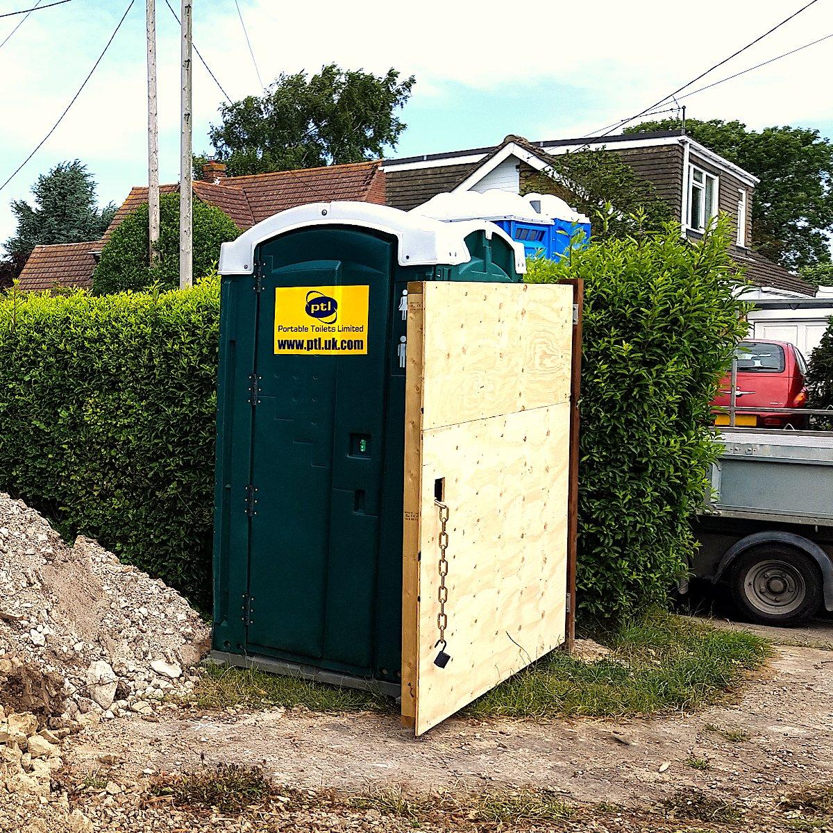 Construction Business Plastic Toilets Hire Rental