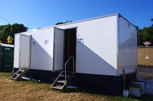 Bestival Trailer Portable Toilets