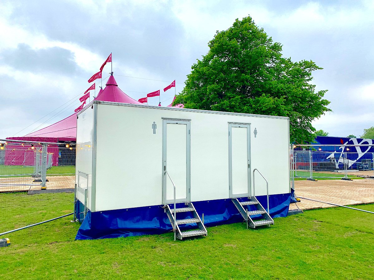 Moonwalk '19 Sport Event Trailers and Sanitation Products Supply