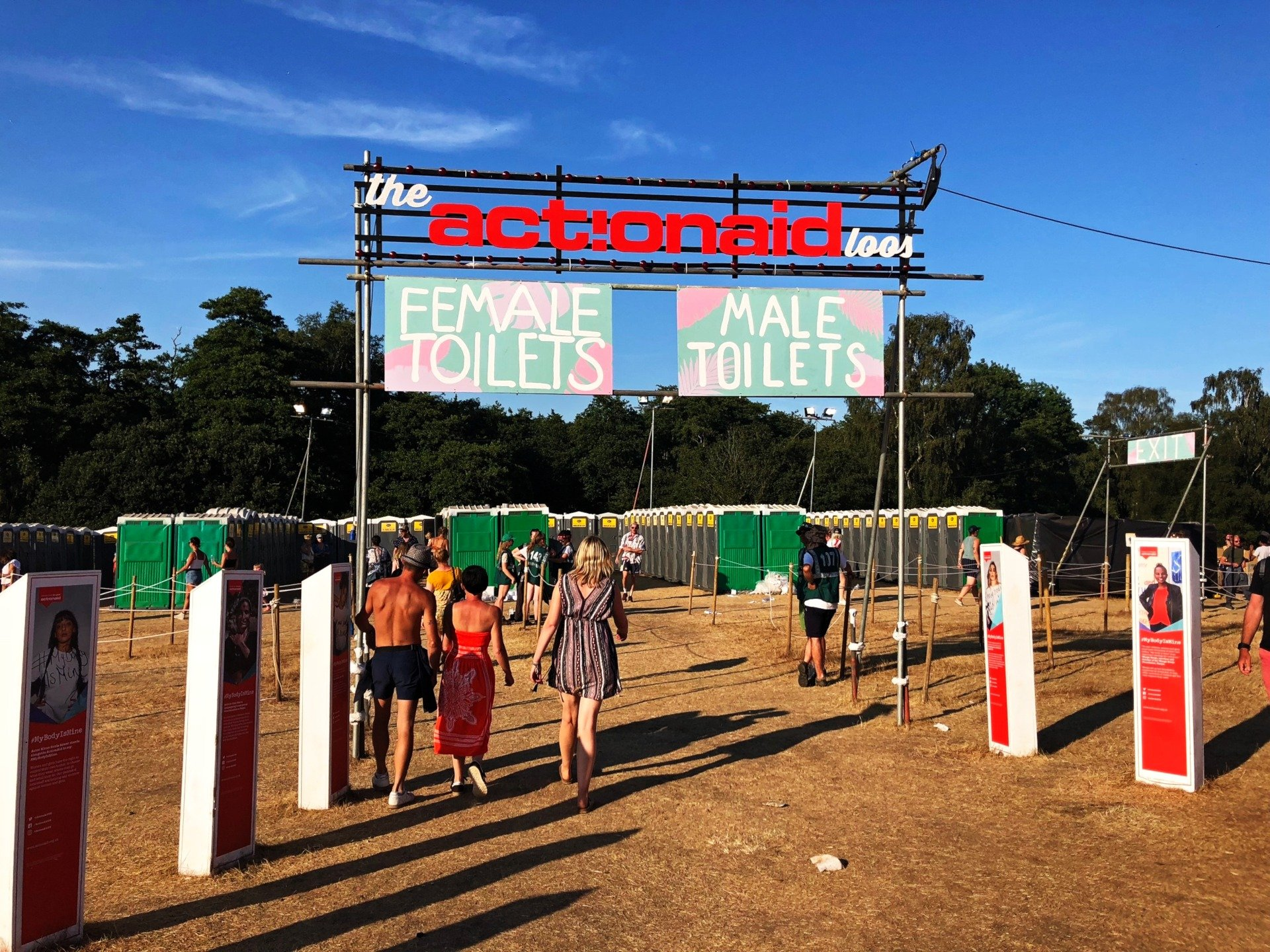 Events Series Festivals Sanitation Products Supplier