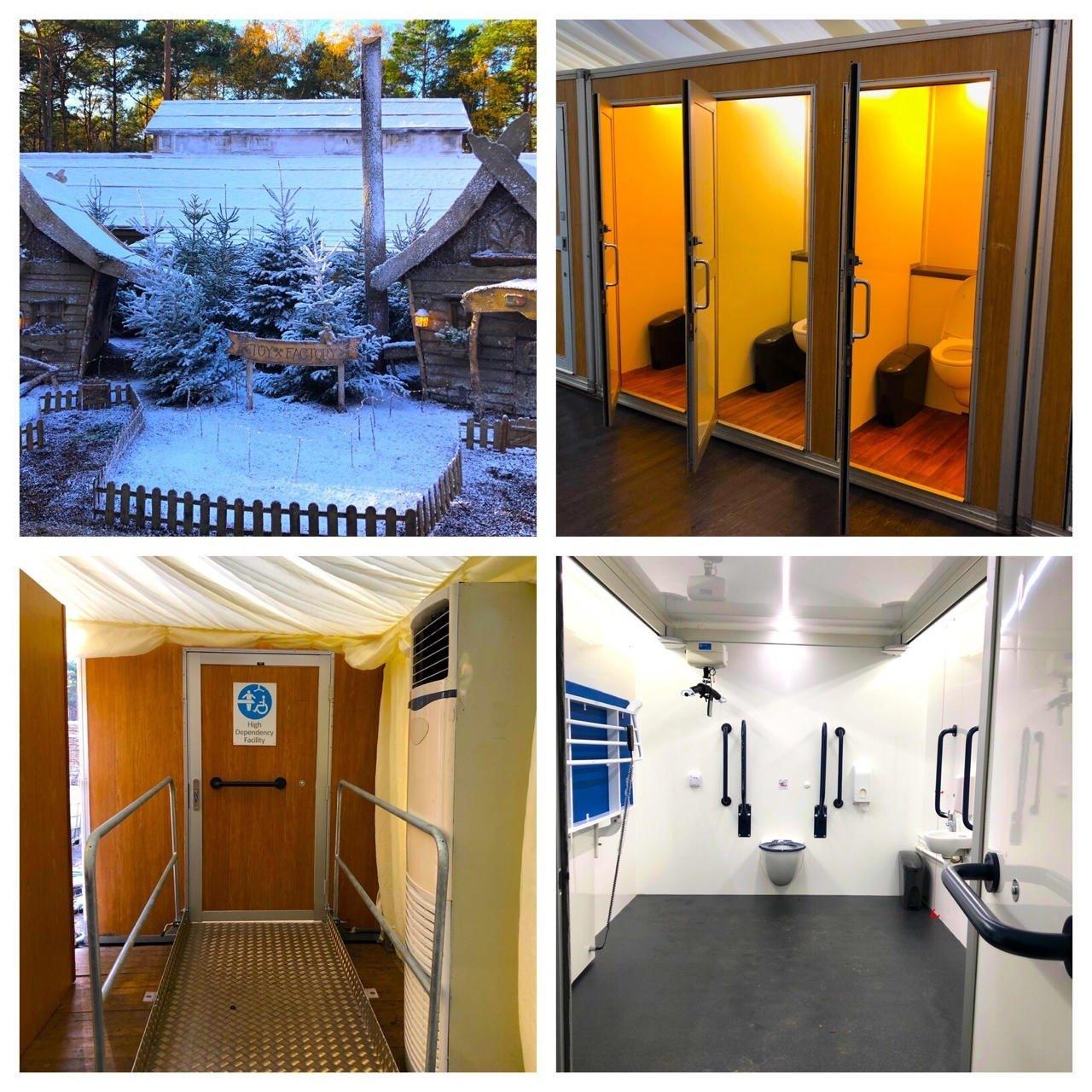 Lapland UK High Dependency Unit Rental Vacuum Toilet