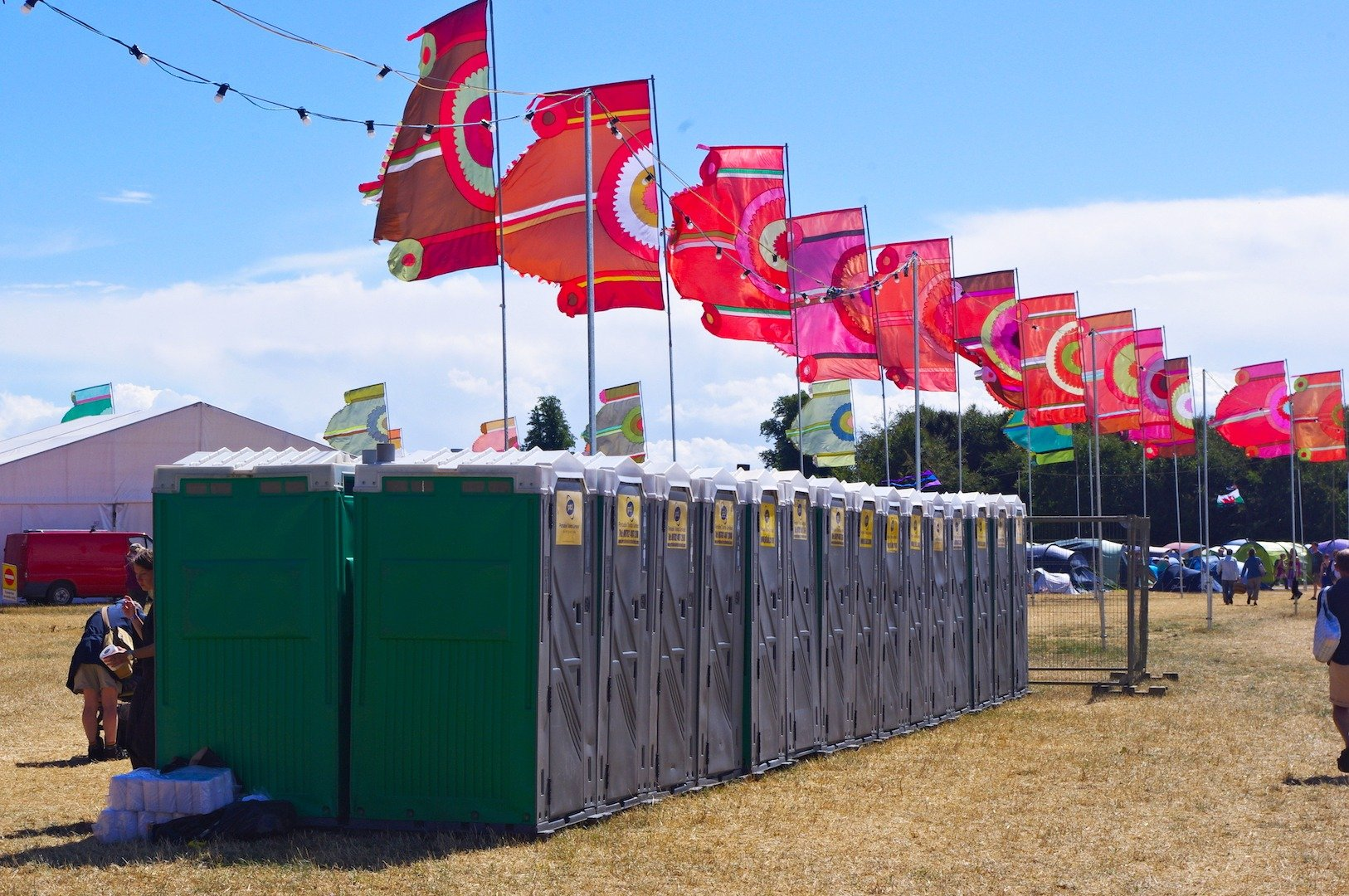 WOMAD Trailers Toilets Hire Sanitation Products