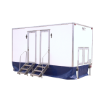 2 + 1 Trailer Mounted Toilet Luxury WC Festivals Events Concerts Hire Onsite Service