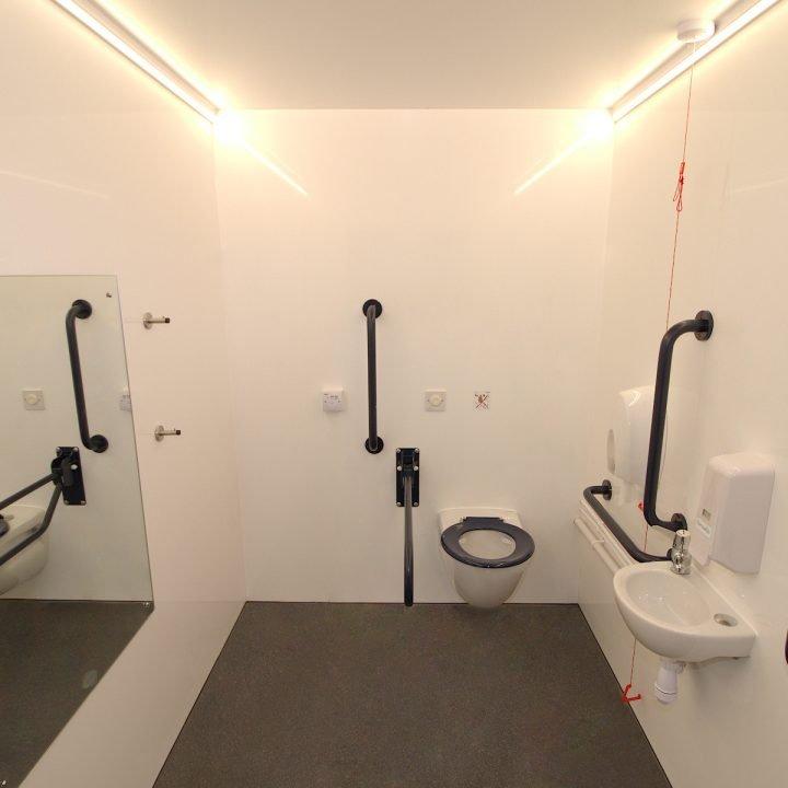 Disabled Vacuum Unit Hire Events Concerts Festivals Container POD Toilet