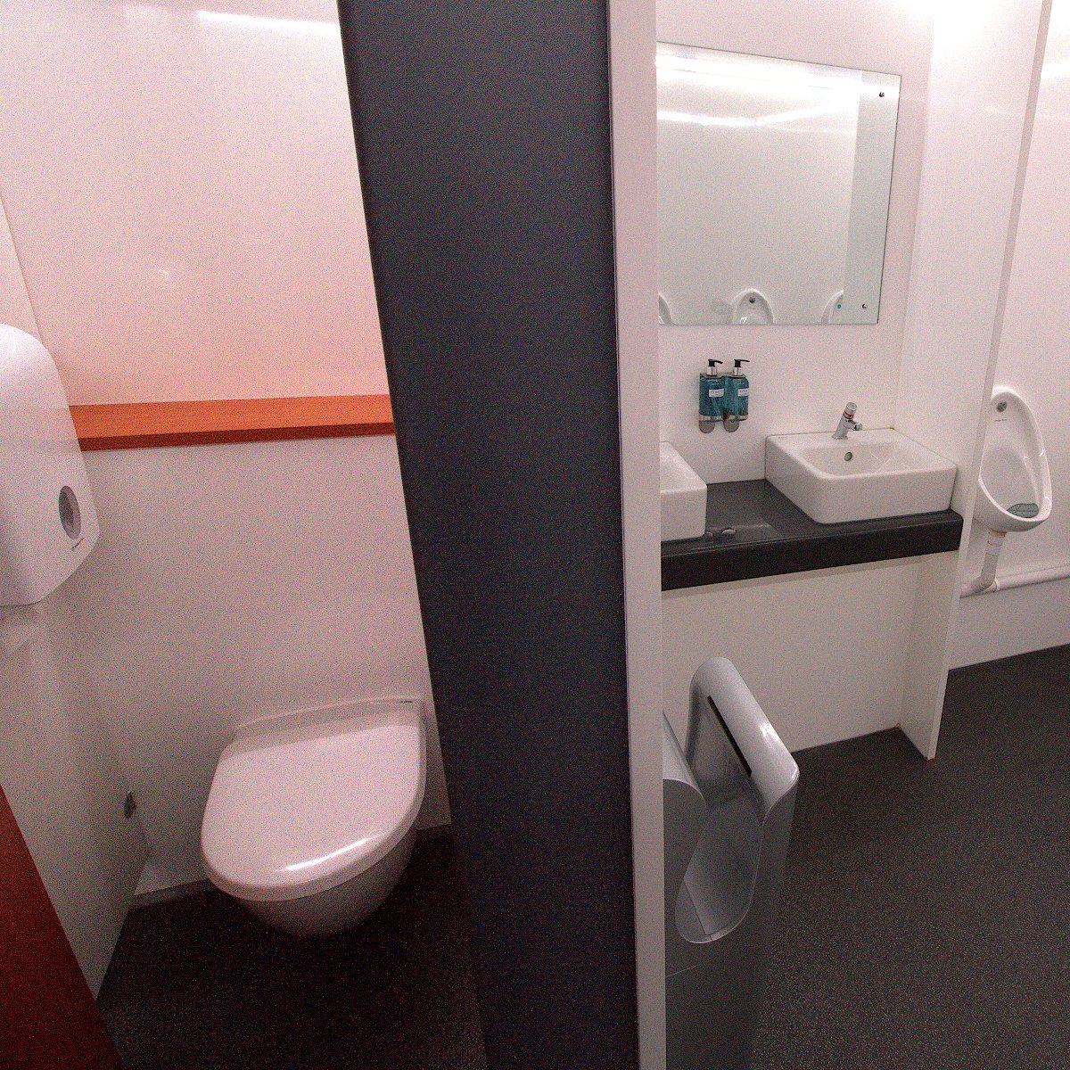 Male 2 + 7 VACPOD Festivals Concerts Exclusive VIP Toilets Rental Delivery Onsite Service